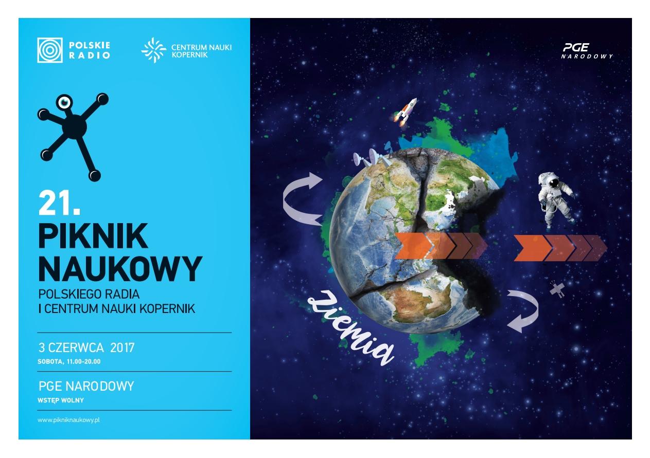 21. Piknik Naukowy - plakat